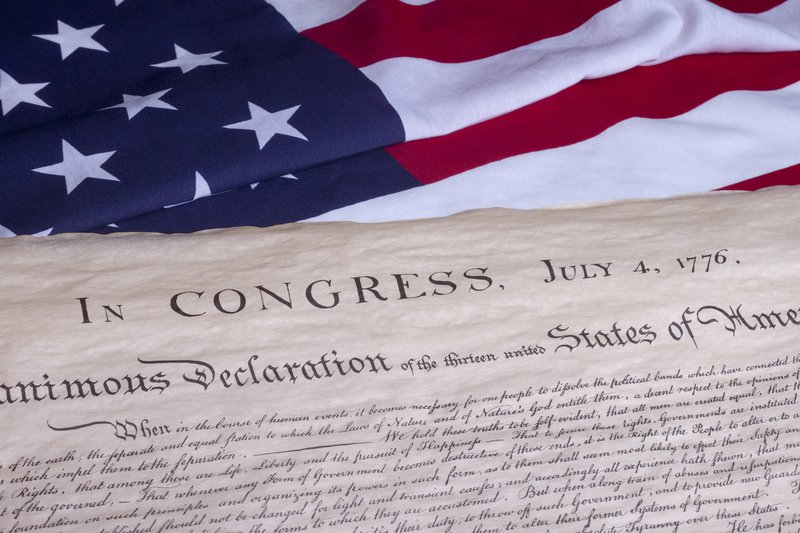 Declaration of Independence of the United States history