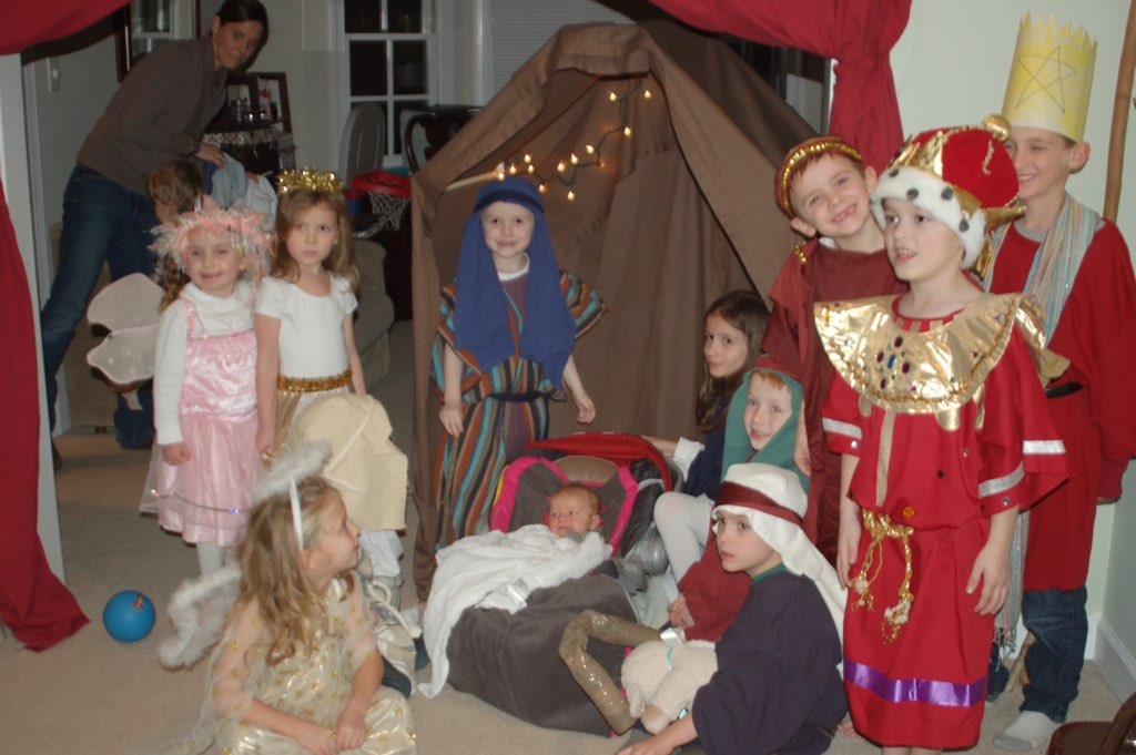 DIY Christmas pageant