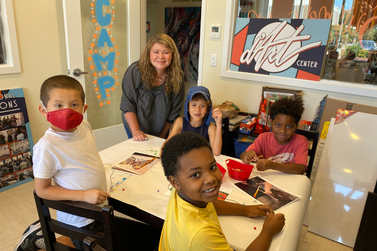 Norfolk's d'Art Center Fun for the Whole Family - summer camps and classes