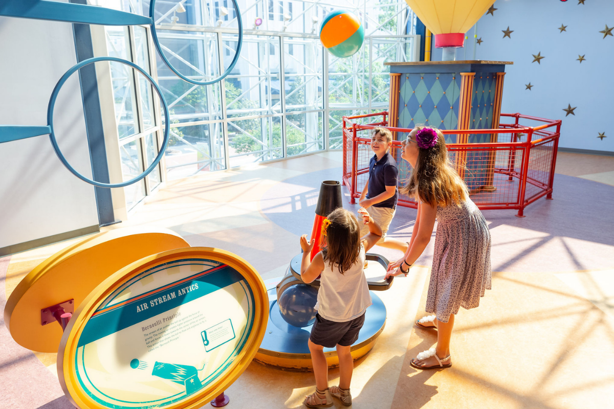 Play and Learn at the Children's Museum of Virginia FamilyApp