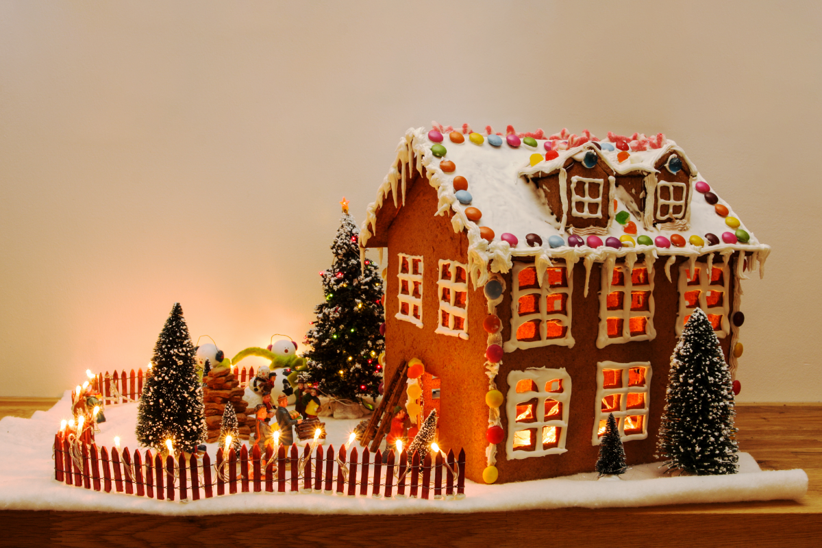 gingerbread houses DIY