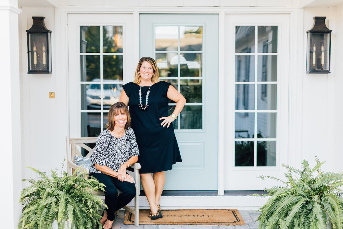 Debbie Mustin and Kara Mustin McCaa Virginia beach realtor team