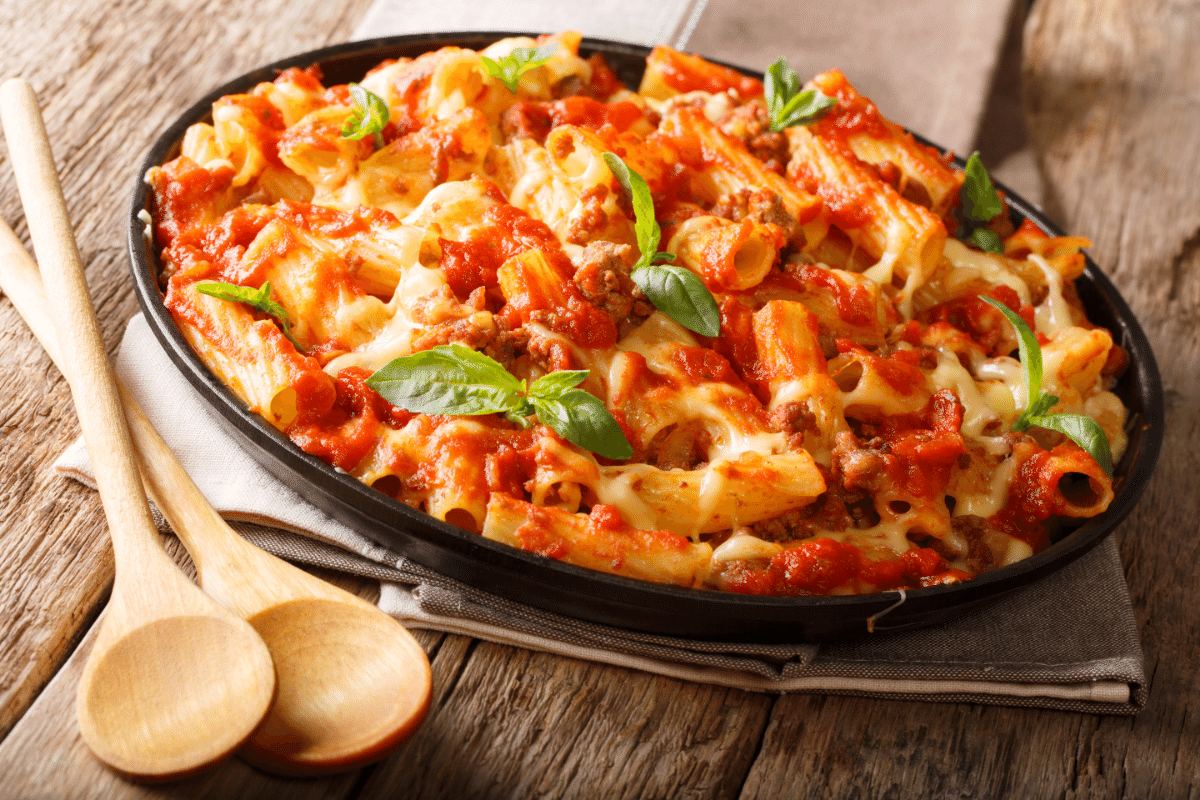 three slow-cooker dinners for school nights. baked ziti