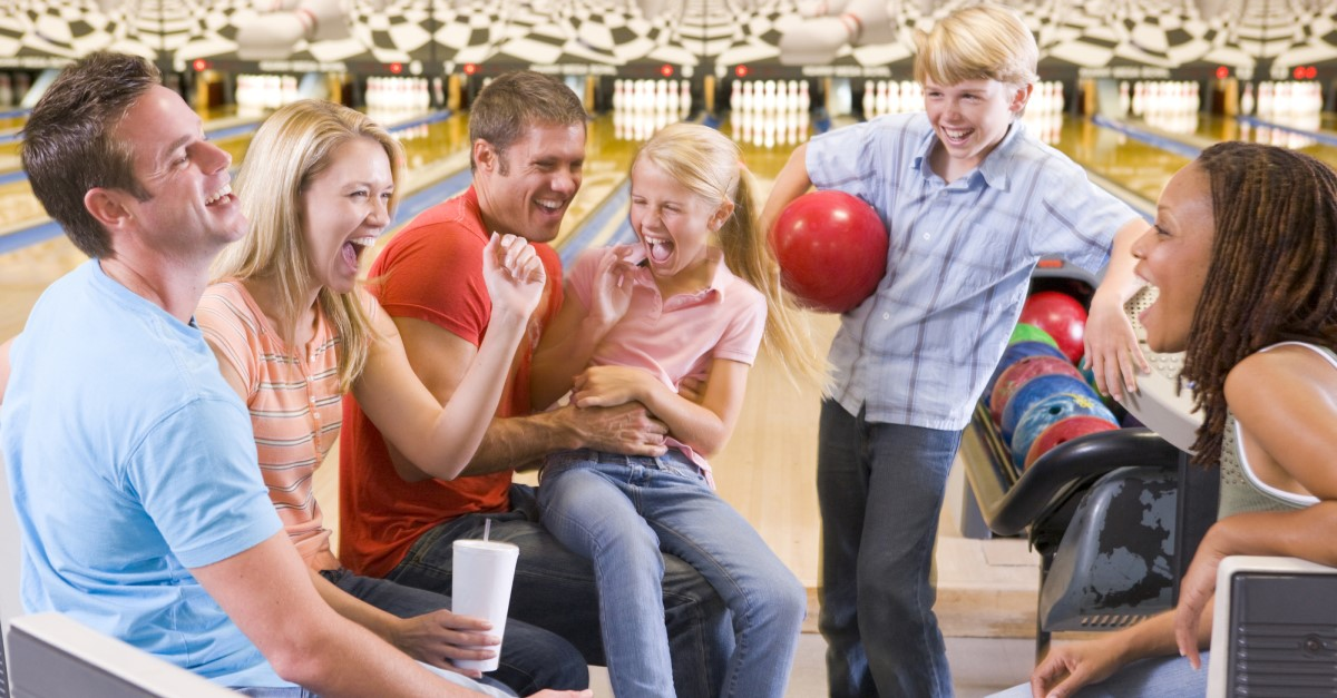 Bowling - Family Activity for a Rainy Day