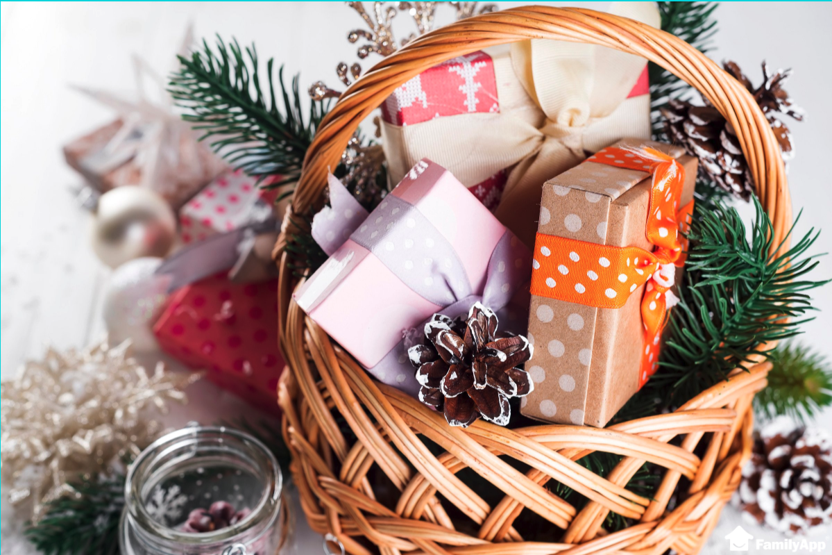 set a Christmas budget for gifts