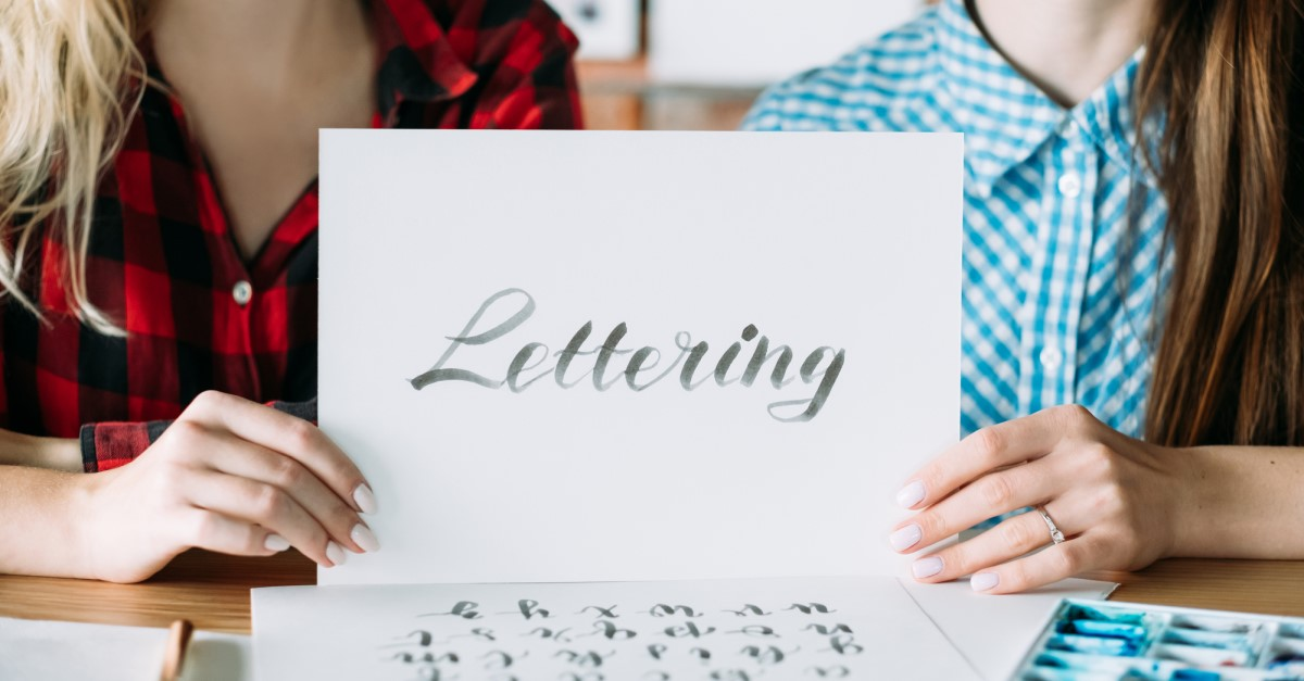 Tips to start Calligraphy and hand lettering
