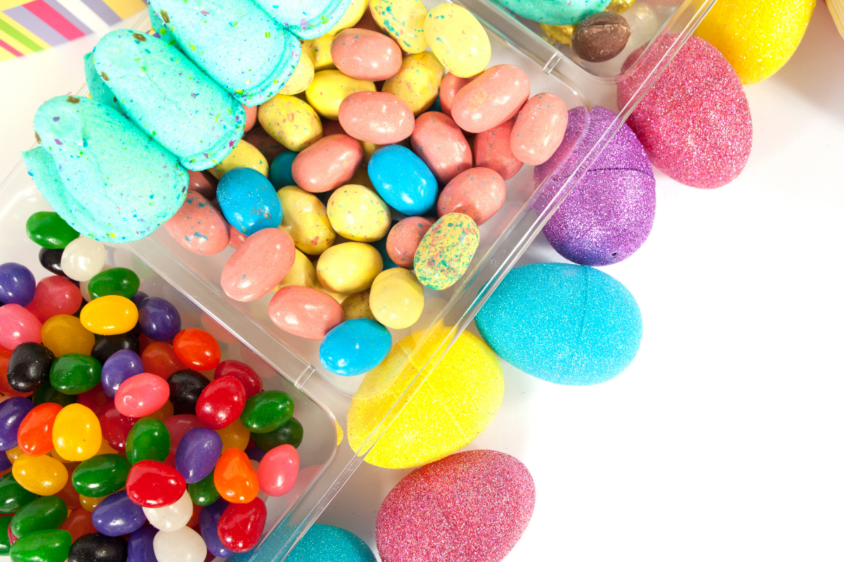 assorted easter candy