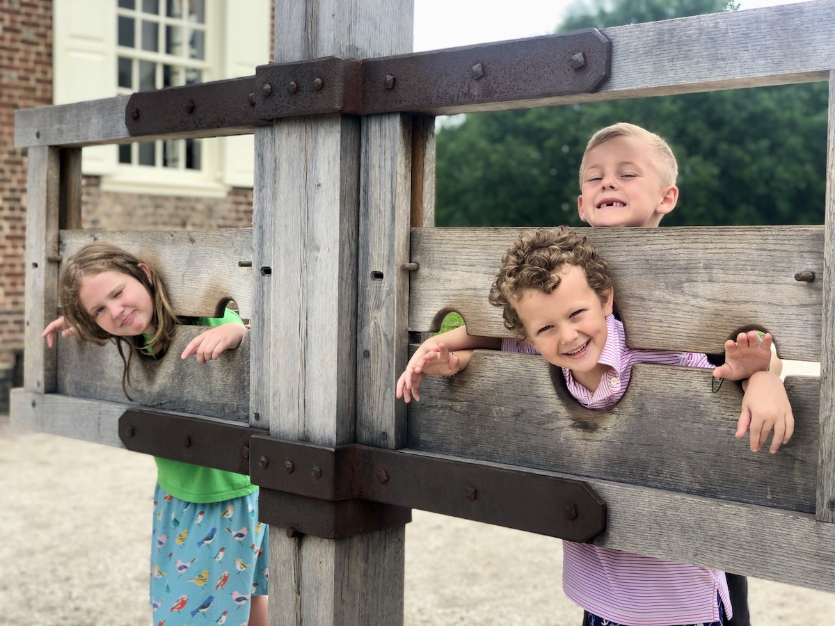 Colonial Williamsburg - family trip in the fall