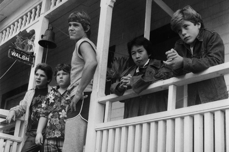 fall family movies classic The Goonies
