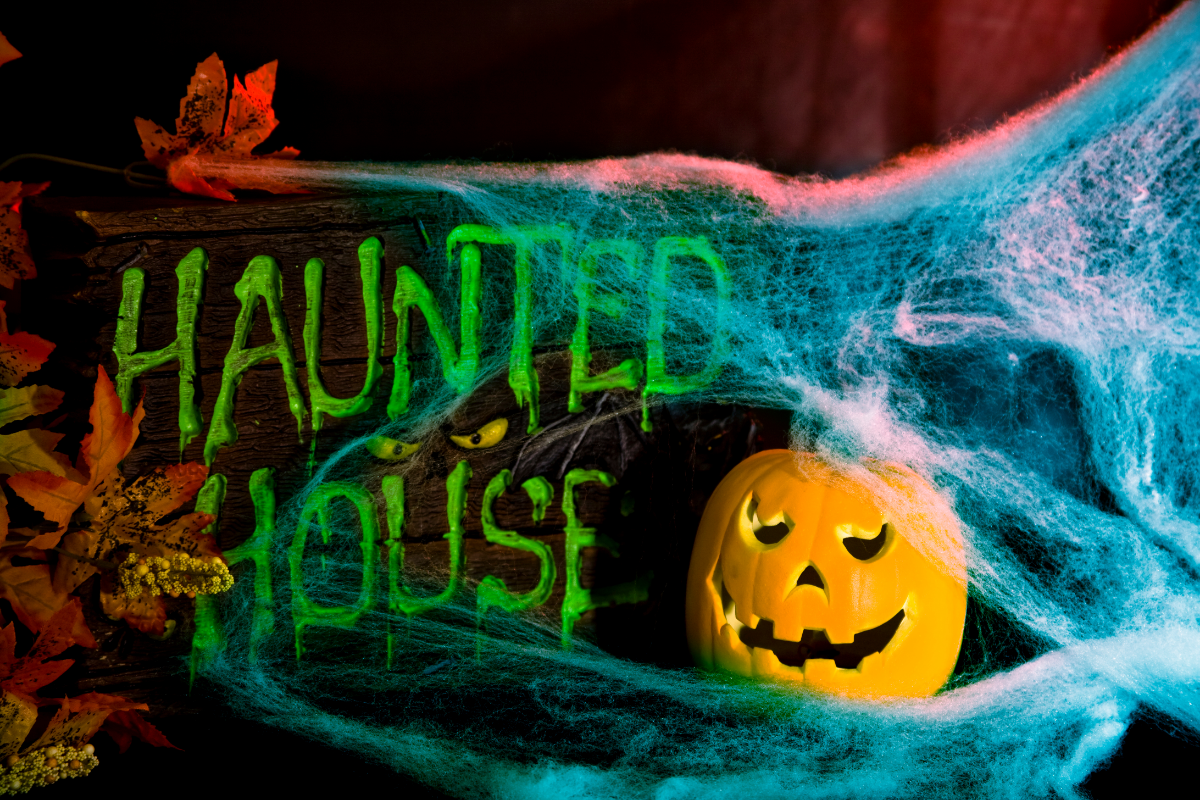 haunted house ideas for halloween