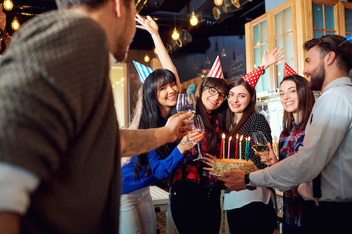 adult birthday party