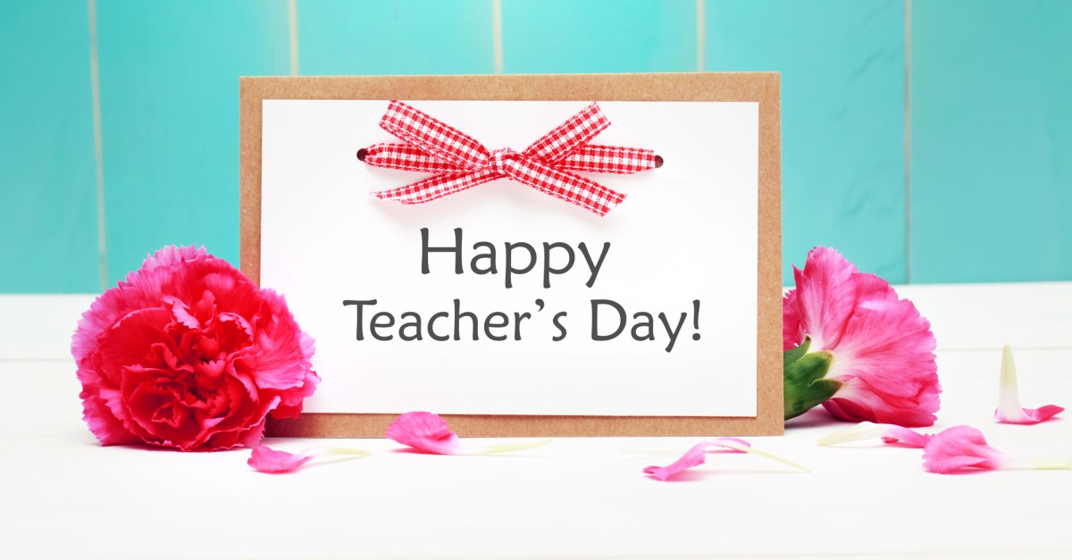 Teacher's Day on May 5, 2020