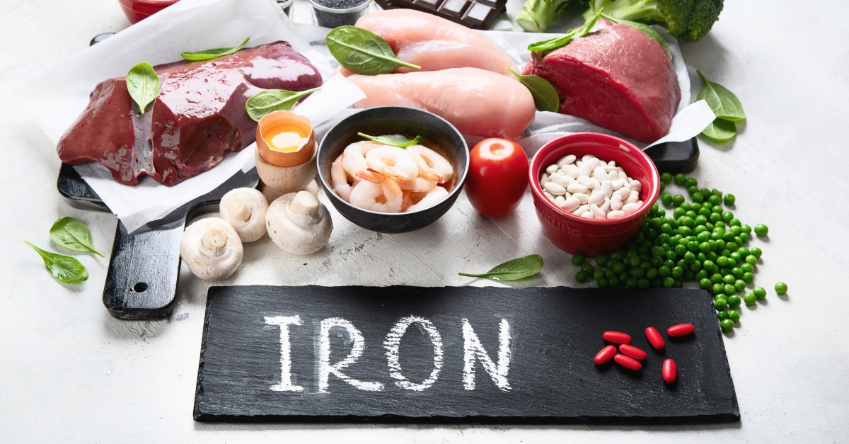 10 signs for iron deficiency