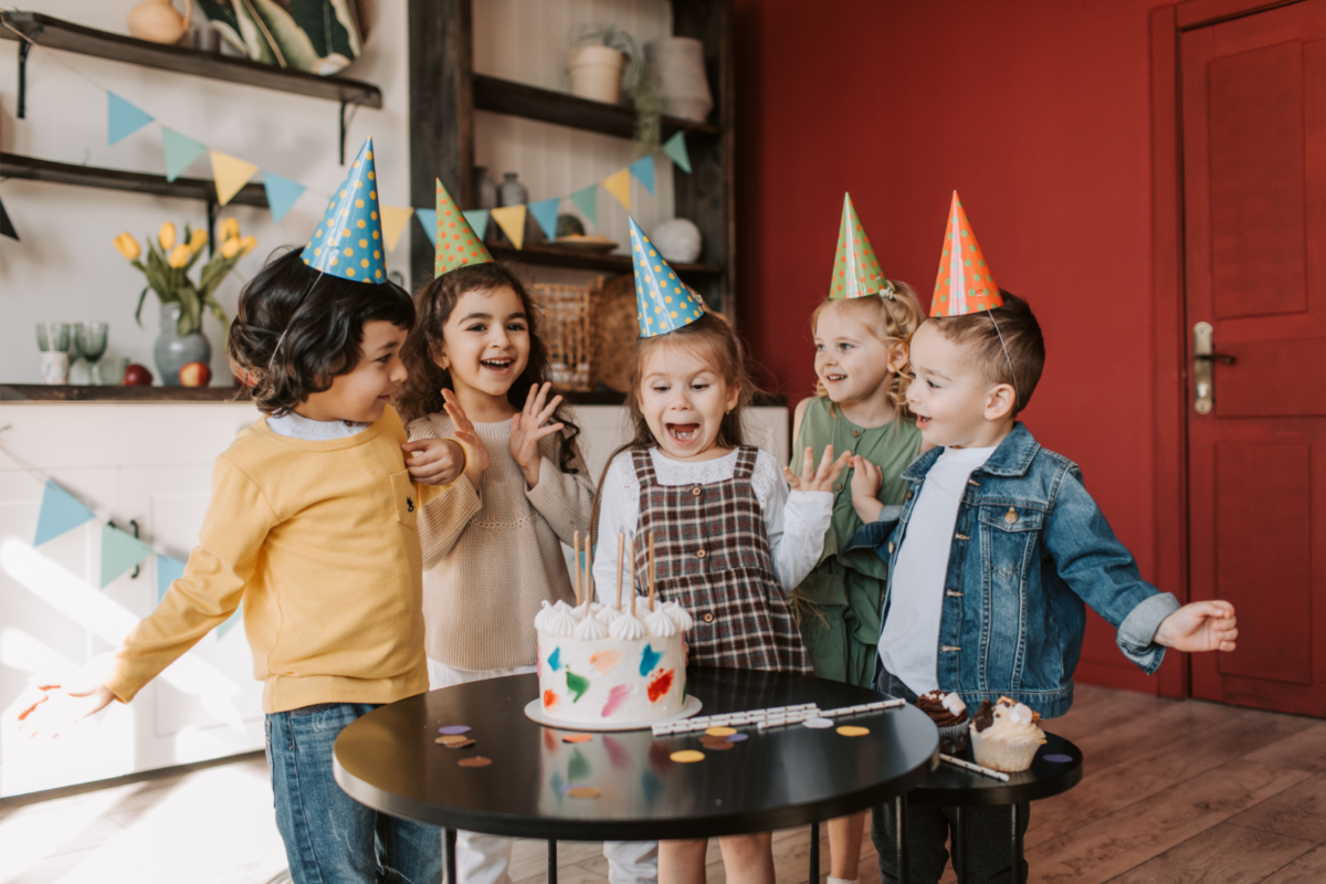 cheap kids birthday party