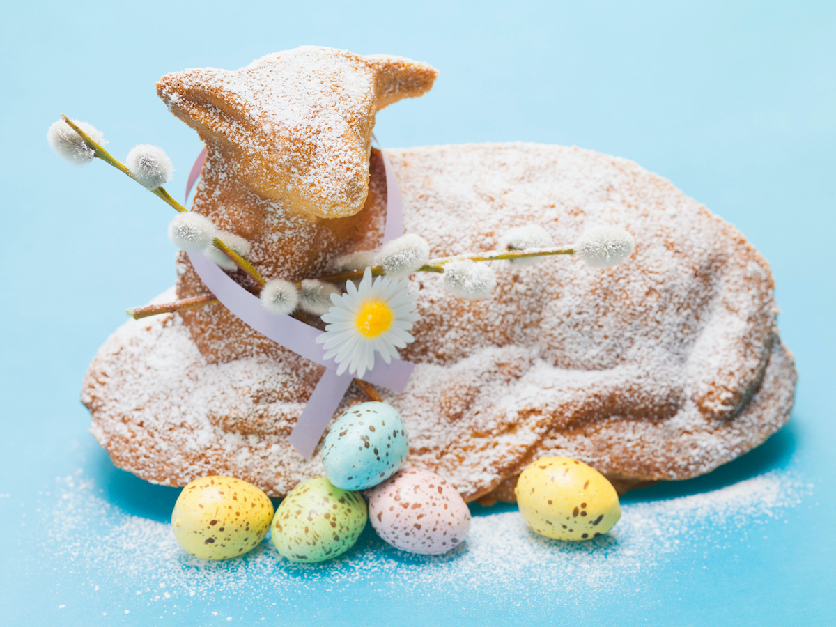 Easter Tradition Lamb Cake