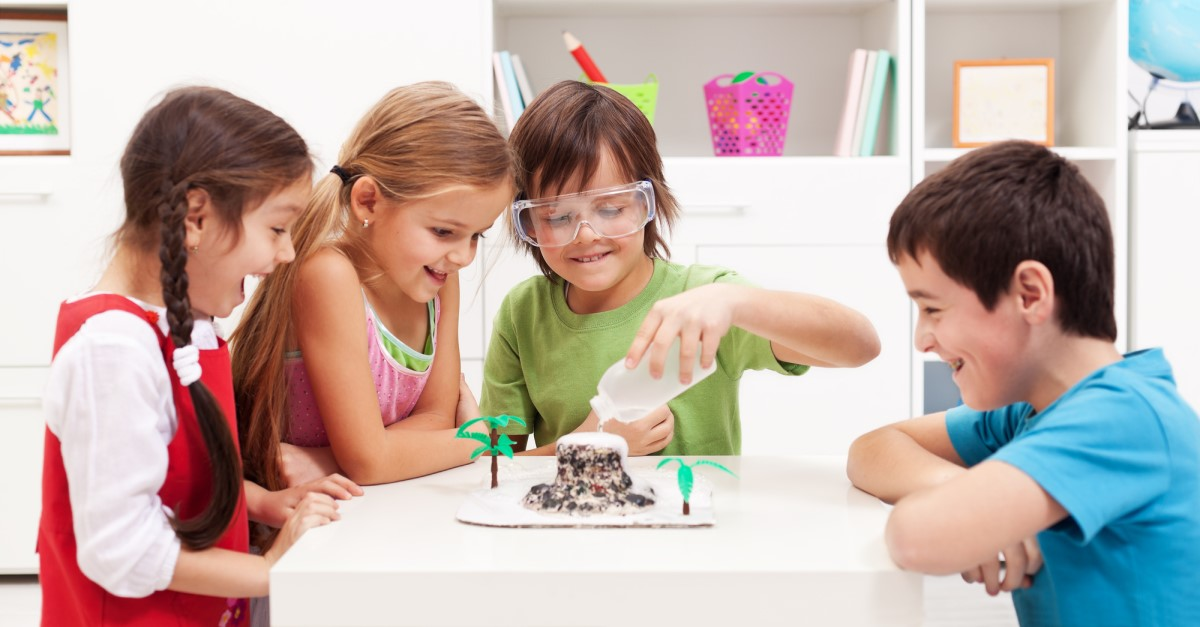 What are easy science experiments for kids?
