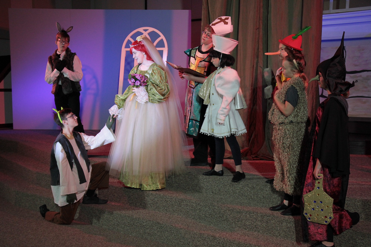 The Rich Theatre Company Shrek wedding
