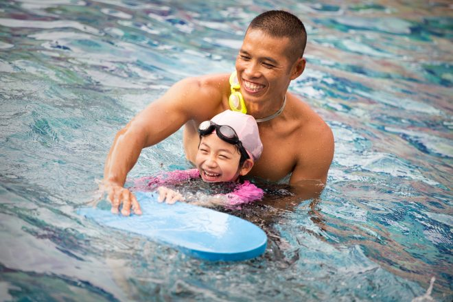 When should swimming lessons start?