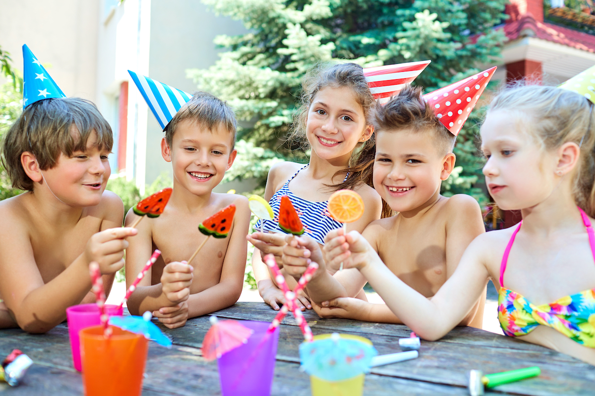 summer parties for kids