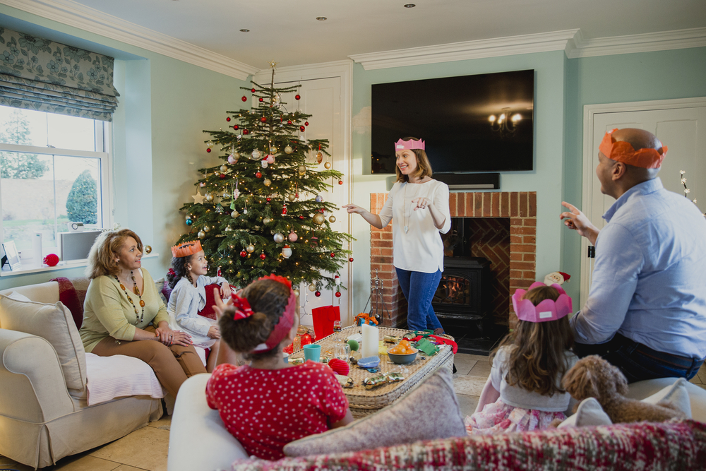 family christmas activities game