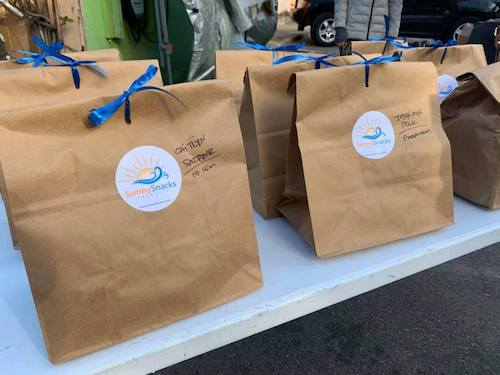 shop locally paper shopping bags