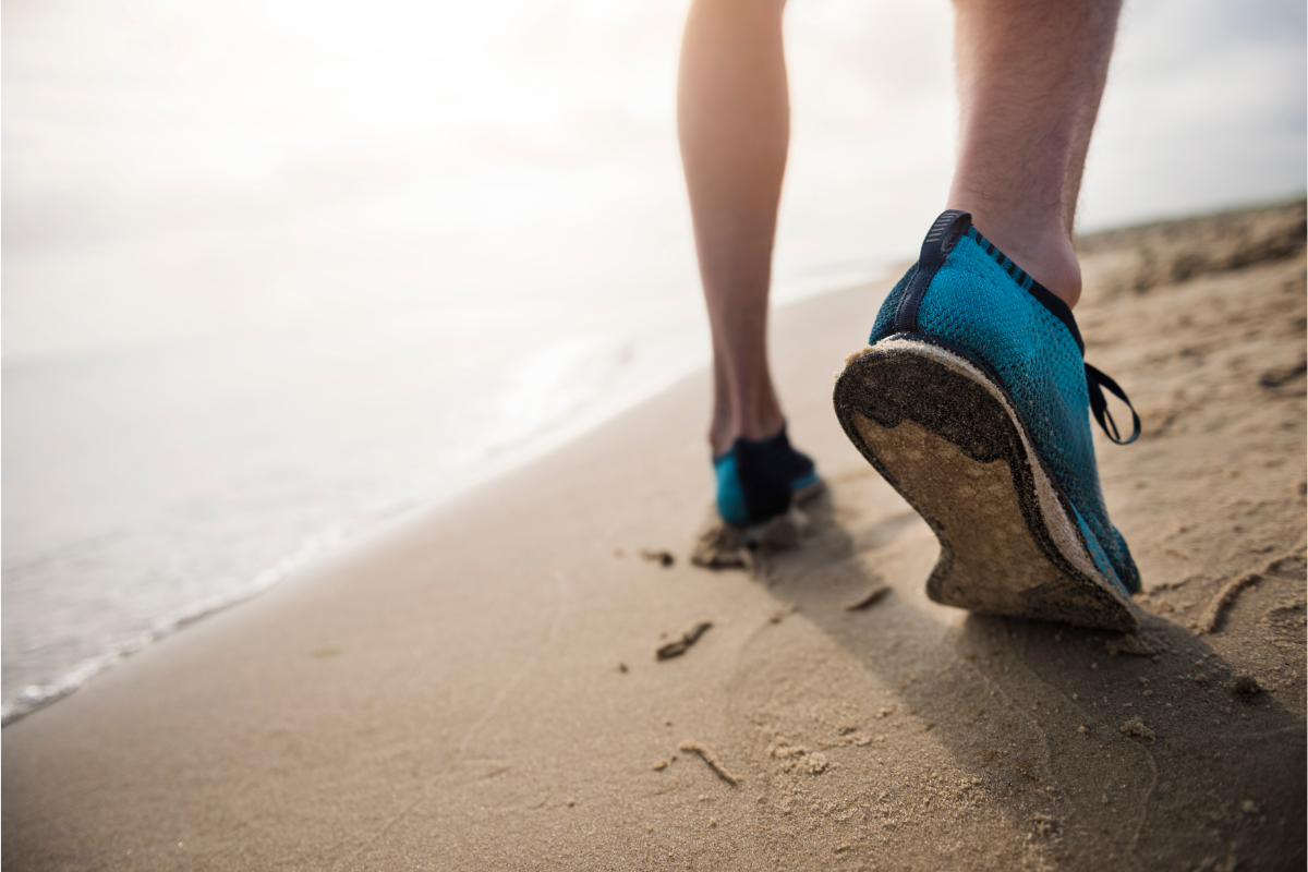 benefits of walking shoes